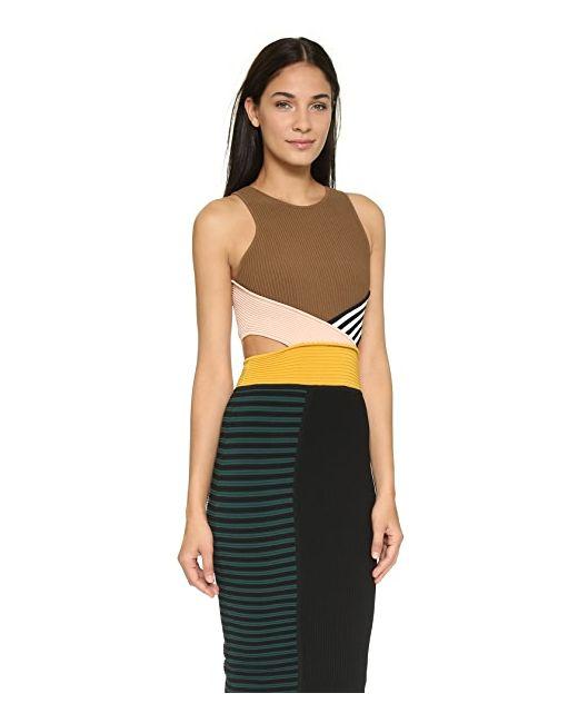 Платье Megan Ronny Kobo                                                                                                              многоцветный цвет