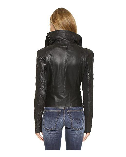 Кожаная Куртка Chloe 6 Shore Road by Pooja                                                                                                              чёрный цвет