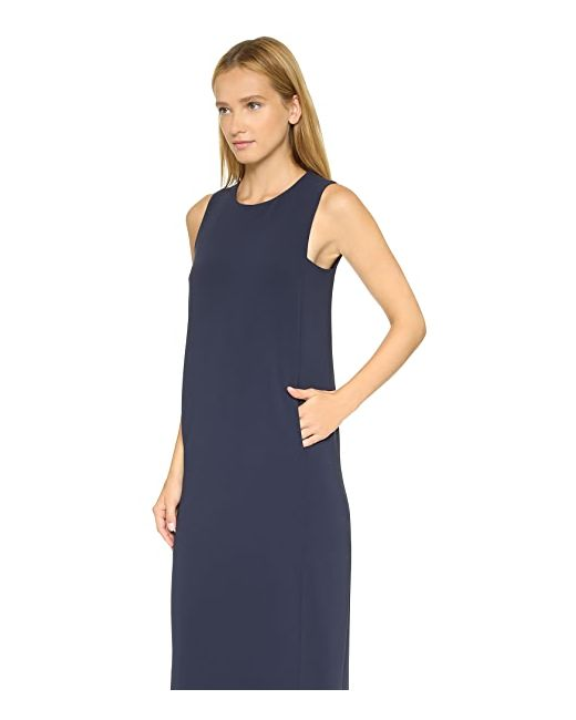 Платье Admiral Frashil Из Крепа Theory                                                                                                              голубой цвет