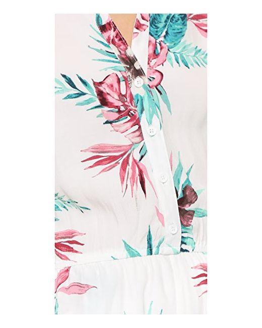 Комбинезон Aleena Orchid Jungle С Принтом Bb Dakota                                                                                                              многоцветный цвет