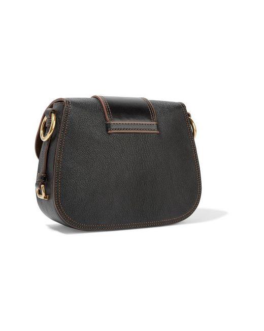 Dahlia Smooth And Textured-Leather Shoulder Bag Miu Miu                                                                                                              красный цвет