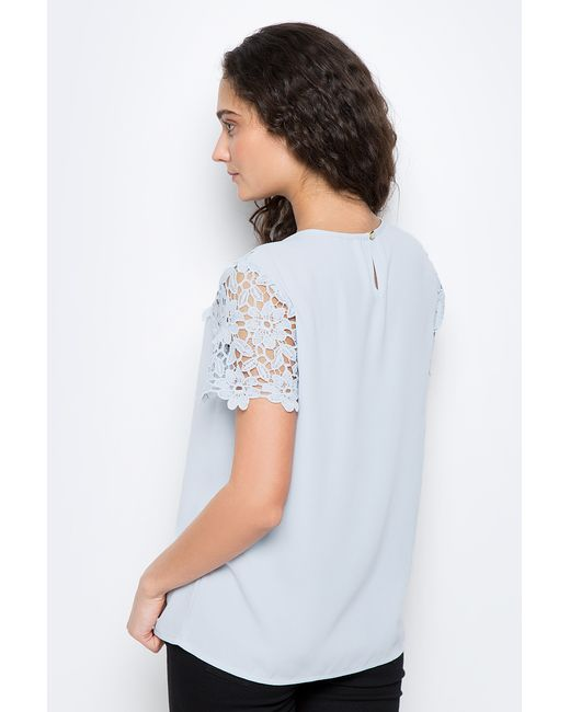 Блузка Baon                                                                                                              голубой цвет