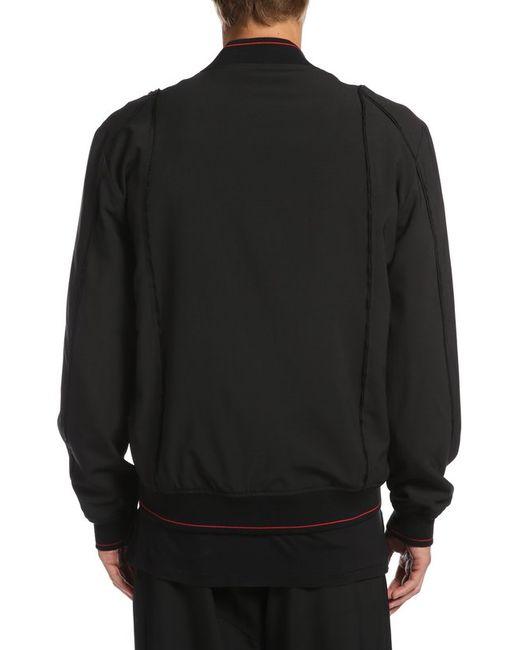 Куртка-Бомбер Silent                                                                                                              чёрный цвет