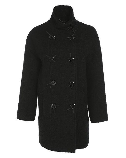 Пальто Прямого Кроя Kenzo                                                                                                              чёрный цвет