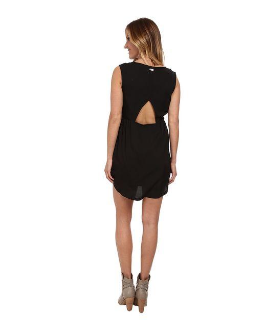 Avenue Womens Dress Rvca                                                                                                              чёрный цвет