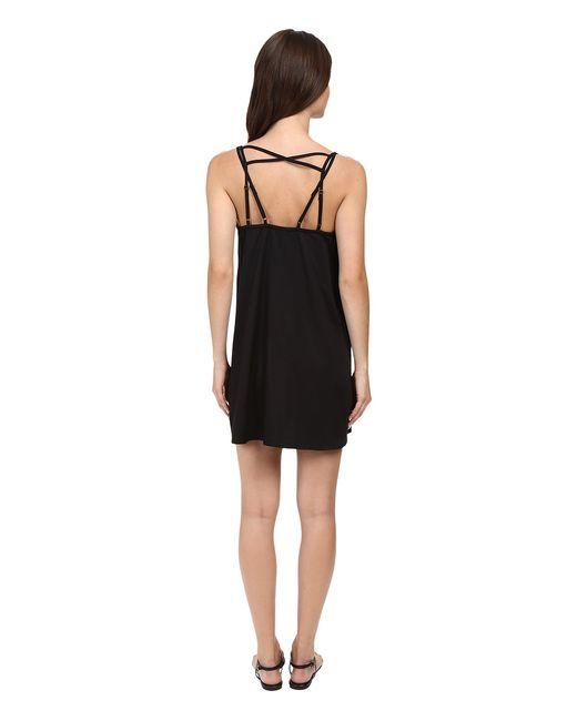 Sims Dress Womens Dress Rvca                                                                                                              чёрный цвет