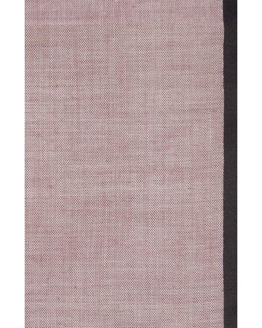 Хлопковый Носовой Платок С Контрастным Кантом Simonnot-Godard                                                                                                              красный цвет