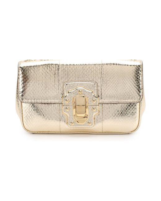94986f5341b8 Женская Золотая Сумка Lucia На Цепочке Dolce & Gabbana 2355175