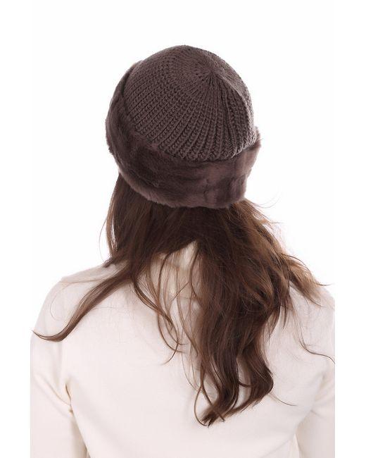 Шапка Seeberger                                                                                                              коричневый цвет
