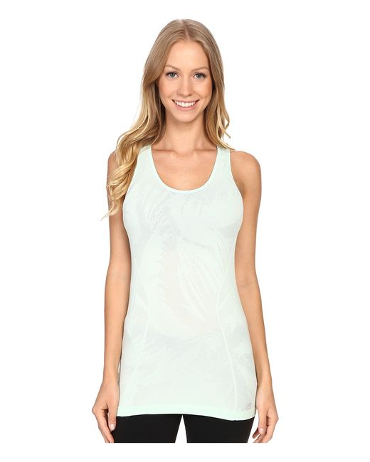 New Balance | Зелёный M4m Seamless Tank Top Seafoam Womens Sleeveless