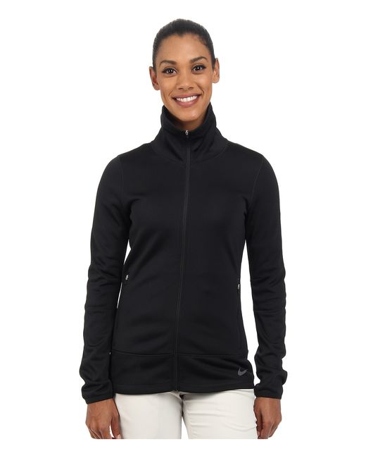 Nike Golf | Чёрный Thermal Full Zip Jacket /Dark Womens Jacket