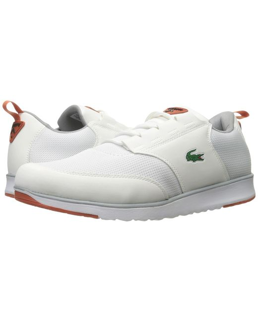 Lacoste   Белый L.Ight 217 1 Mens Shoes