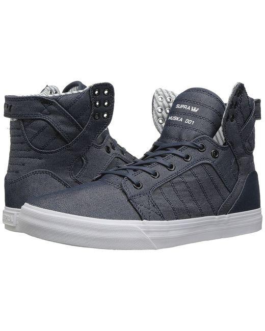 Supra | Голубой Skytop Mens Skate Shoes