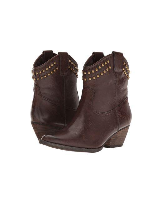 VOLATILE   Коричневый Saxon Womens Boots