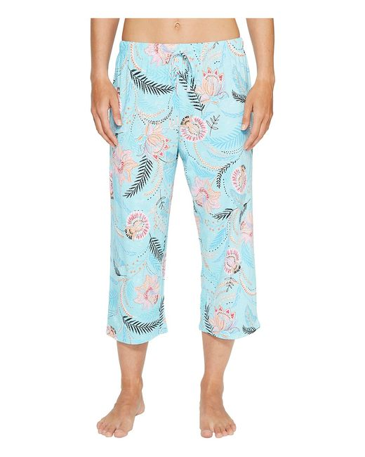 Jockey | Голубой Printed Capris Marakesh Womens Pajama