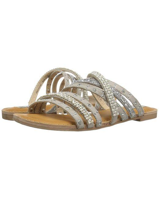 Not Rated   Серебристый Caviar Womens Sandals