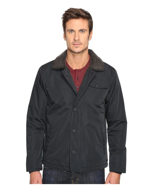 Rvca | Чёрный N-1 Naval Jacket Mens Coat