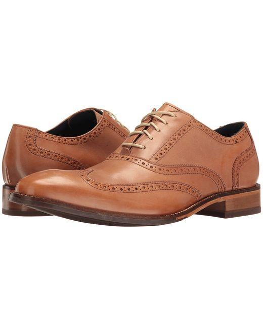 Cole Haan   Коричневый Williams Wing Ii Pecan Mens Shoes