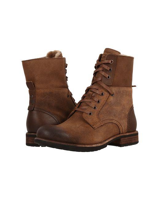 UGG Australia   Коричневый Larus Chestnut Mens Shoes