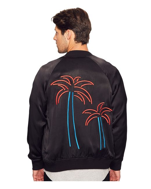NANA JUDY | Чёрный The Hotel California Bomber Mens Jacket