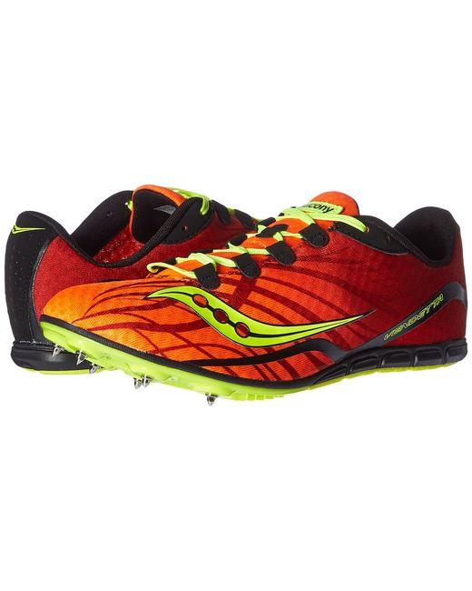 Saucony   Оранжевый Vendetta Citron Mens Running Shoes