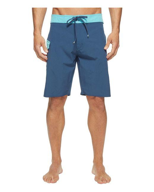 Rvca | Navy Register 20 Boardshorts Dark Denim Mens Swimwear