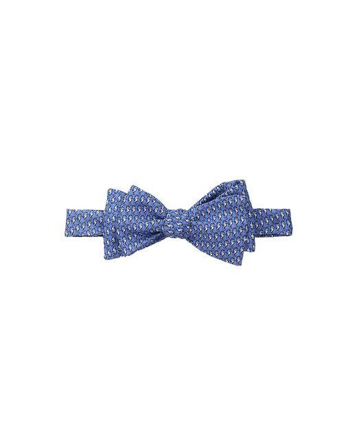 Vineyard Vines | Голубой Seahorse Printed Bow Tie Bimini Ties