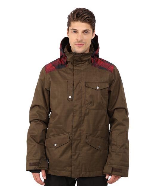 Dakine | Коричневый Intruder Snow Jacket Coffee Mens Coat