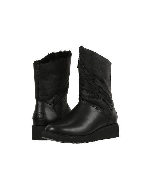 UGG Australia   Чёрный Lorna Womens Boots