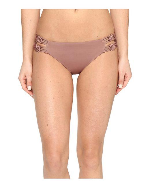 Dolce Vita | Коричневый Solids Macrame Bottom Saddle Womens Swimwear
