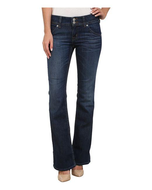 Hudson | Голубой Petite Signature Bootcut Jeans In Enlightened Enlightened