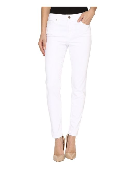 Sanctuary   Белый Robbie High Release Ankle Pants Womens Casual