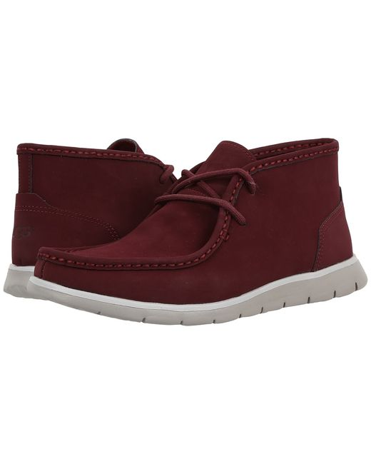 UGG Australia | Burgundy Hendrickson Cordovan Mens Shoes