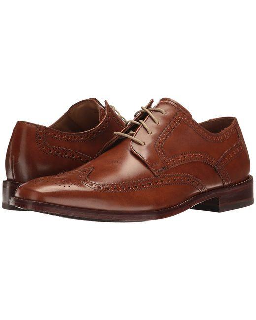 Cole Haan | Tan Giraldo Wingtip Ii British Mens Shoes