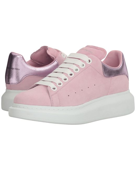 Alexander McQueen | Розовый Sneaker Pelle S.Gomma Clover/Pale Womens Shoes
