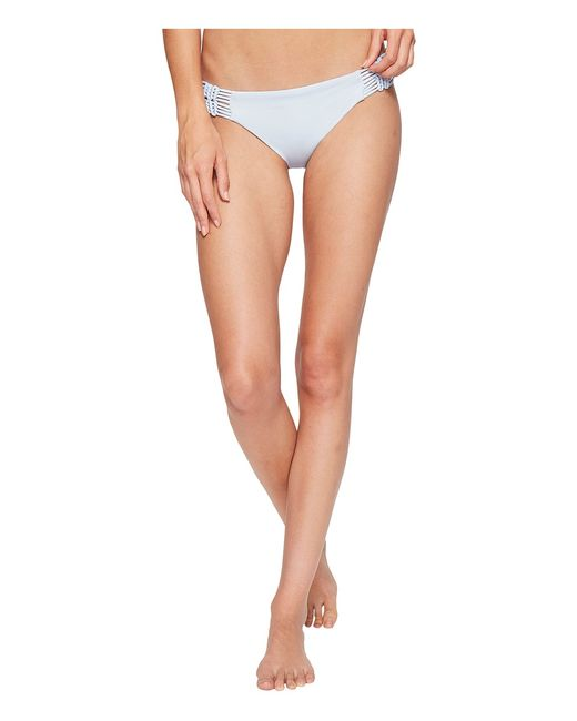 Dolce Vita | Белый Solids Bottom With Macrame Side Inserts Cloud