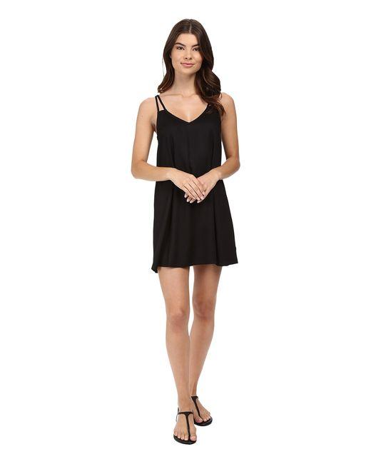 Rvca | Чёрный Sims Dress Womens Dress