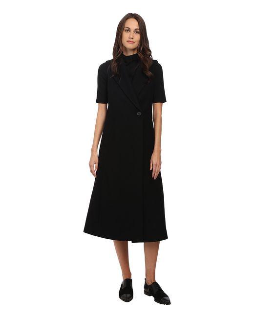 Theory | Чёрный Tremayah Coat Womens Coat
