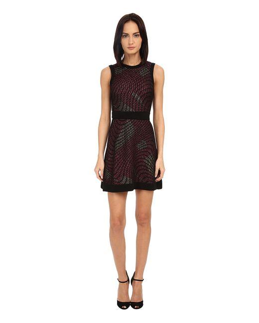 Missoni | Розовый M Lurex Web Sleeveless Dress Fuchsia Womens