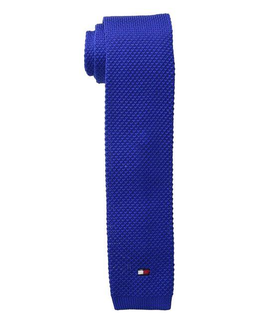 Tommy Hilfiger | Голубой Flag Logo Royal Ties