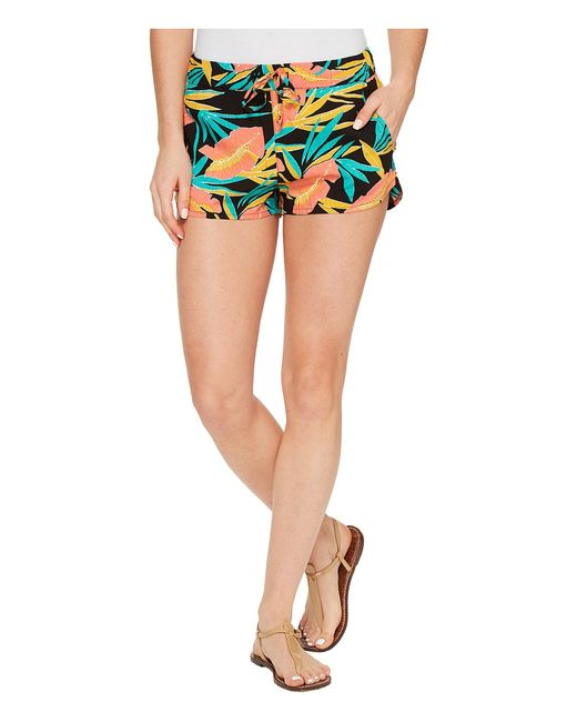 Vans | Чёрный Janek Ii Short Tropical Womens Shorts