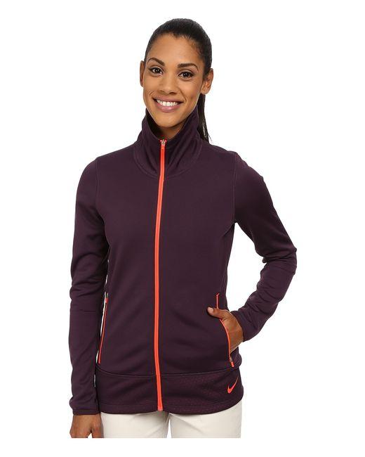 Nike Golf | Коричневый Thermal Full Zip Jacket Noble Bright Crimson/Bright