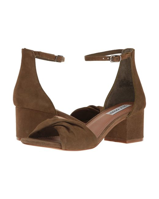 STEVE MADDEN | Olive Bllast Suede Womens Dress Sandals