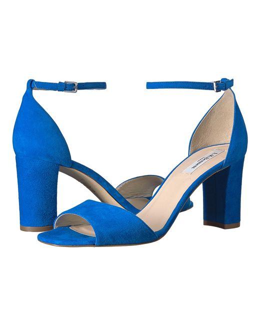 L.K. Bennett | Голубой Helena Majorelle Suede High Heels