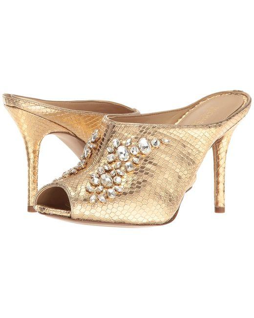 Michael Michael Kors | Золотой Edie Mule Pale Womens Shoes