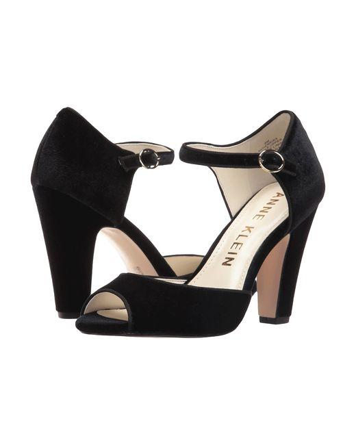 Anne Klein | Чёрный Henrika Fabric Womens Shoes