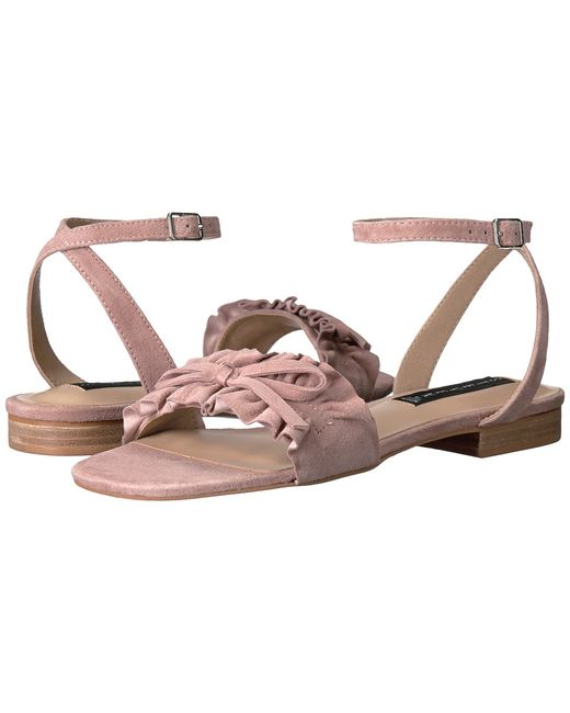 Steven | Розовый Cassiel Blush Suede Womens Shoes