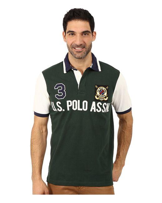 U.S. Polo Assn.   Чёрный U.S. Polo Assn. Color Block U.S. Polo
