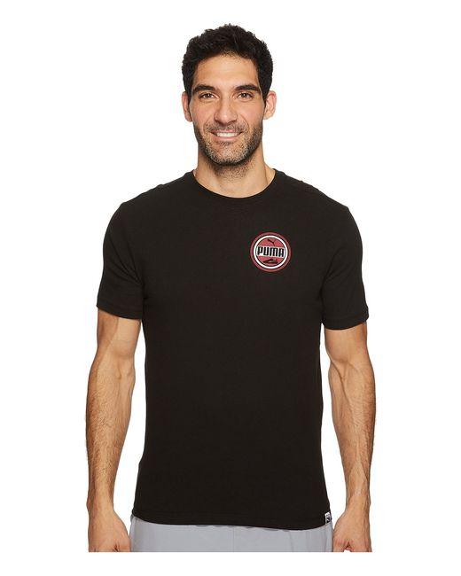 Puma | Чёрный Suede Walker Tee Tibetan Mens T Shirt