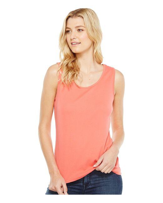 Pendleton | Розовый Rib Tank Top Coral Womens Sleeveless